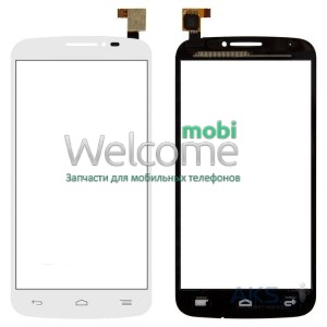 Сенсор Alcatel 7040D,7040E,7040A,7041D One Touch Pop C7 white orig