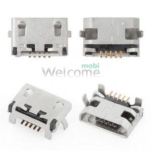 Коннектор зарядки Lenovo A5000,A7000,A7600