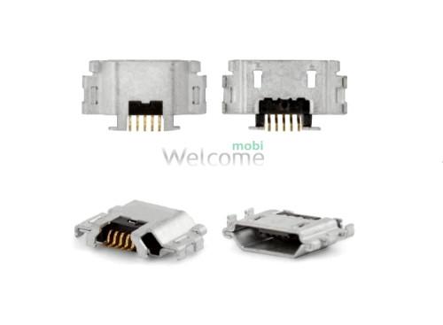 Коннектор зарядки Sony C5502,C5503 Xperia ZR,C6902,C6903,C6906,C6943 Xperia Z1 (5 шт.)