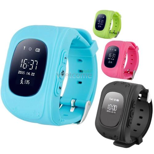 Детские телефон-часы с GPS трекером smart baby watch Q50