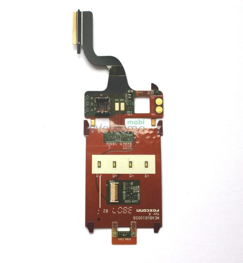 Шлейф Sony Ericsson Z320 with ICs & SMALL camera connector