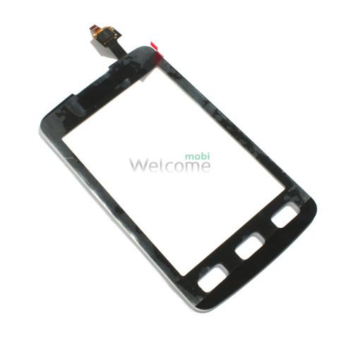 Сенсор Samsung S5690 black orig
