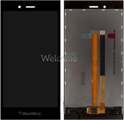 LCD for BlackBerry Z3 black orig