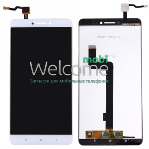 LCD Xiaomi MiMax with touchscreen white orig
