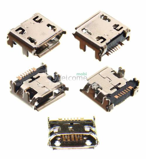 Коннектор зарядки Samsung C3322,C3330,C3350,C3520,C3560,C3752,E2222,S5360,S5380 orig (5 шт.)