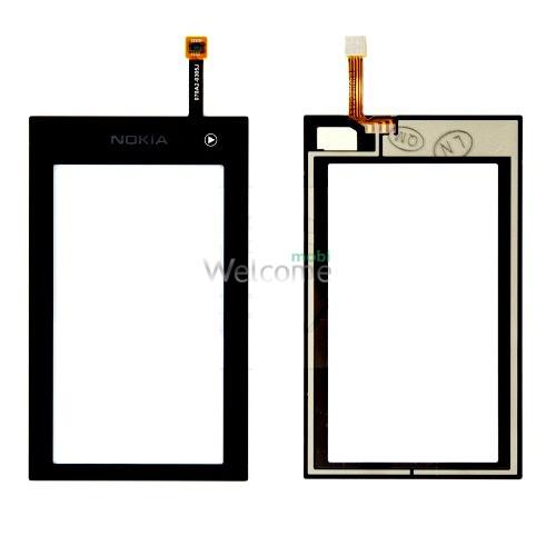 Сенсор Nokia 5250 black orig