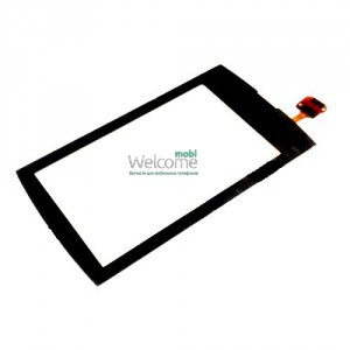 Сенсор Nokia 600 Asha black+frame orig