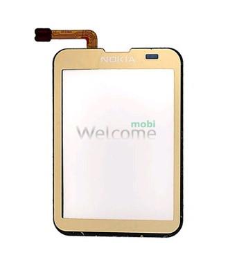 Сенсор Nokia C3-01 gold orig