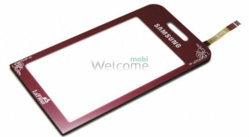 Сенсор Samsung S5230 La Fleur Red orig (TEST)