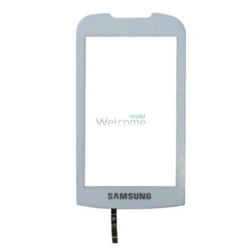 Сенсор Samsung S5560 white orig