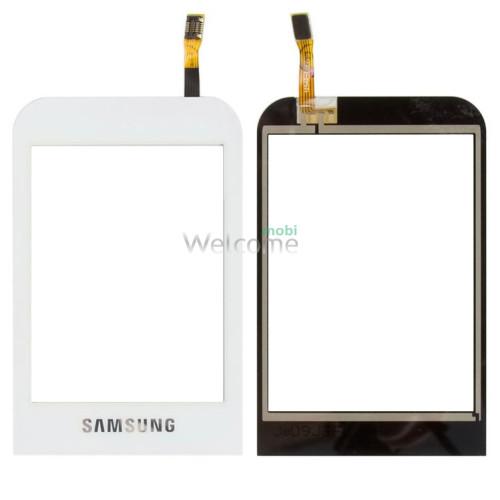 Сенсор Samsung C3300 white orig