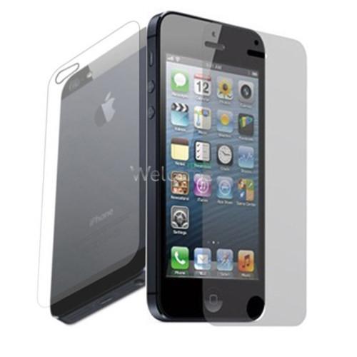 Защитная пленка iPhone5 матовая (экран+задняя крышка)