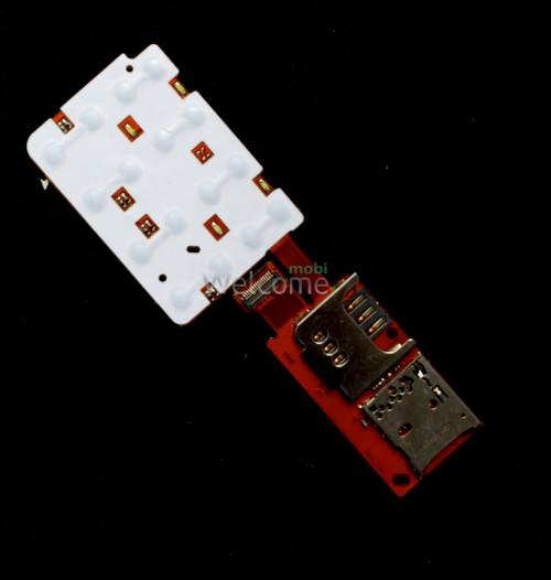 Keypad module Nokia X3-02