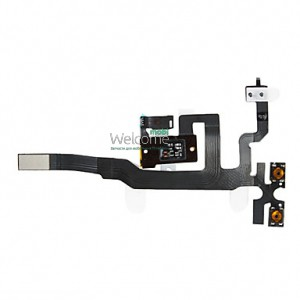 Iphone4S audio flex cable black orig