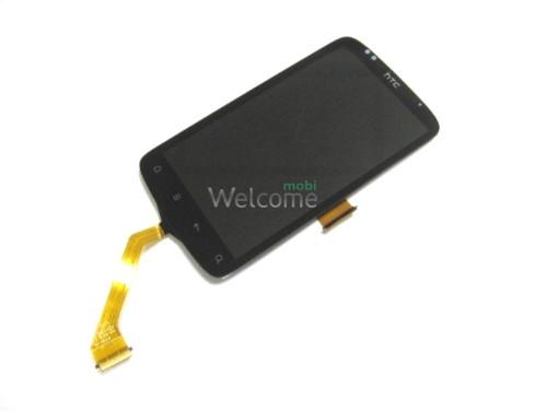 Сенсор HTC S510e Desire S,G12 black (с дисплеем) big flex orig