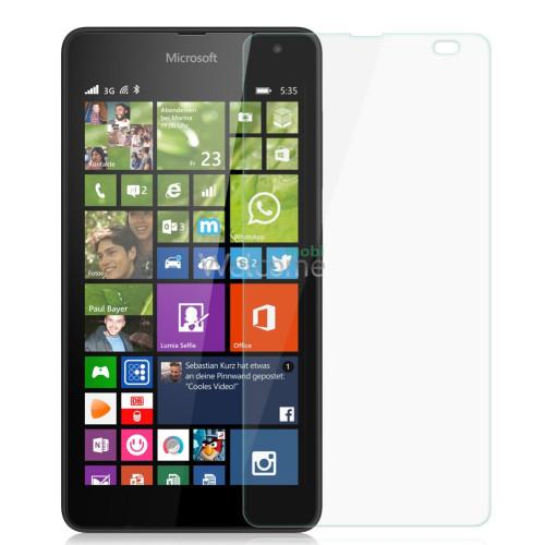 Стекло Microsoft 535 Lumia (0.3 мм, 2.5D, с олеофобным покрытием)