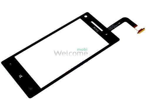 Сенсор HTC C620e Windows Phone 8X black high copy