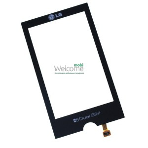 Сенсор LG GX500 black orig