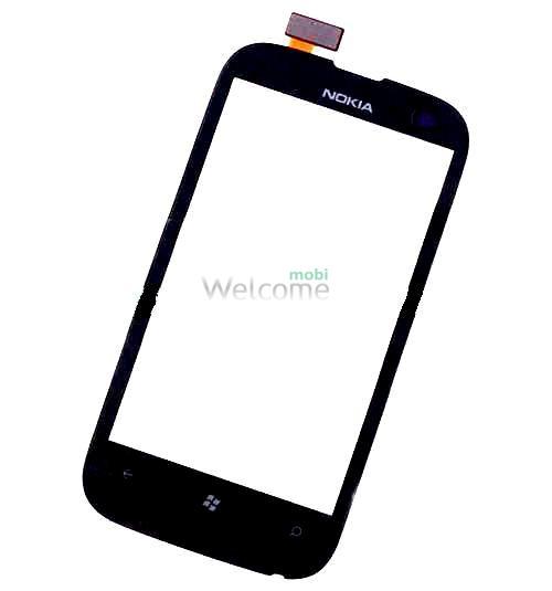 Сенсор Nokia 510 Lumia black orig