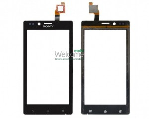 Сенсор Sony ST26i Xperia J black orig
