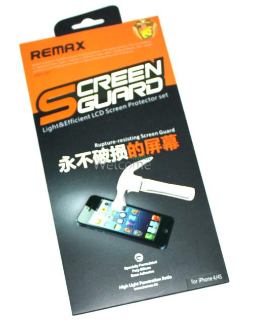Защитная пленка iPhone4,4s Remax противоударная