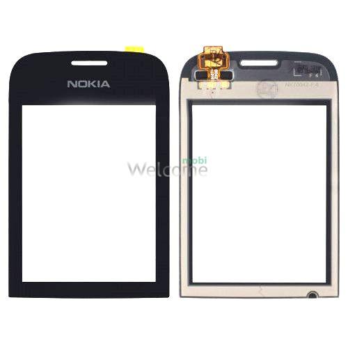 Сенсор Nokia 202,200 Asha black copy