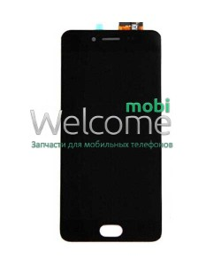 Дисплей Meizu M3S with touchscreen black orig (TXD500UYPA-251-1 V.01 home 15mm)