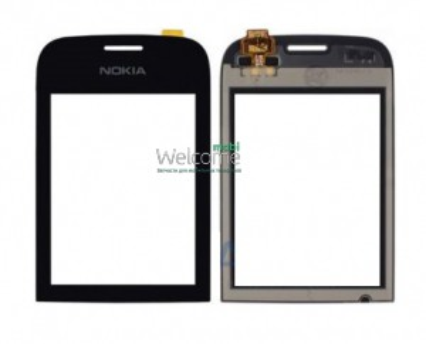 Сенсор Nokia 202,200 Asha black orig