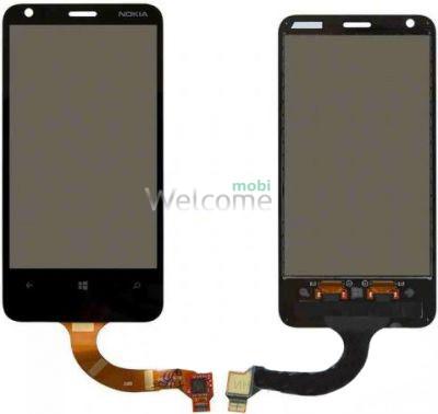 Сенсор Nokia 620 Lumia black orig