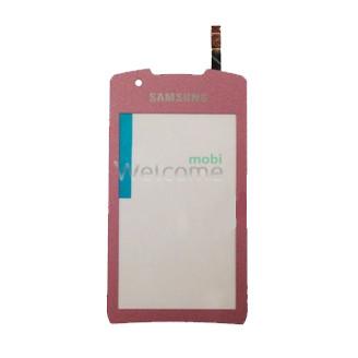 Сенсор Samsung S5620 Monte pink orig (TEST)