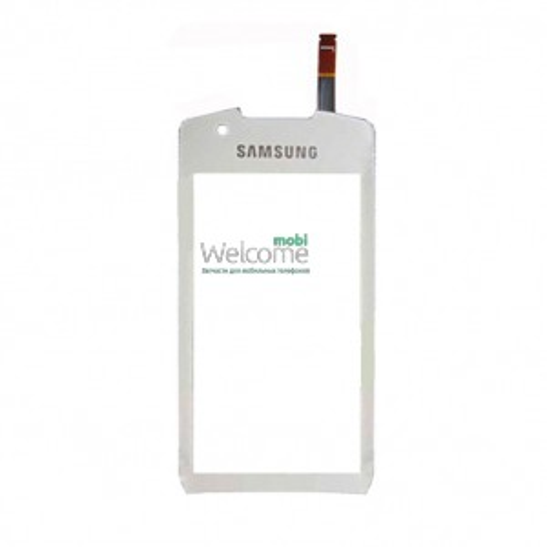 Сенсор Samsung S5620 Monte white orig (TEST)