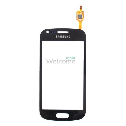 Сенсор Samsung S7562 black high copy