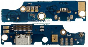 Шлейф Meizu M2 Note mainboard with charge connector orig