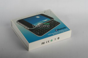 Клавиатура для iPhone4,4S Bluetooth APIP4SBK-BK - Black orig