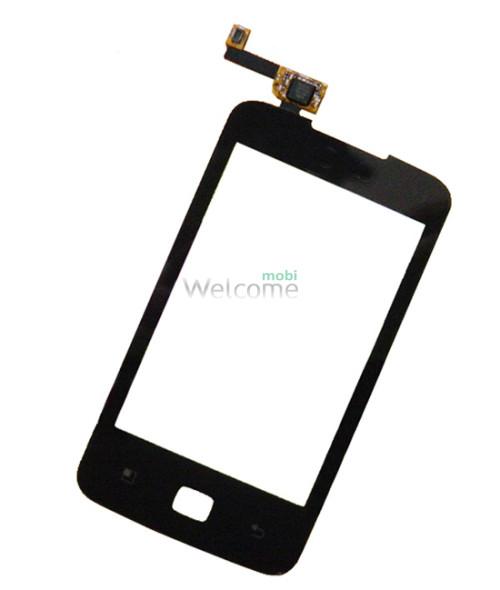 Сенсор LG E510 black Optimus Hub orig