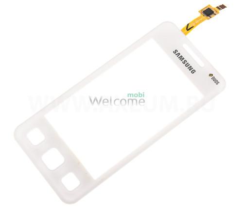 Сенсор Samsung C6712 white orig