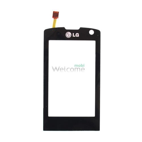 Сенсор LG GW520 black high copy