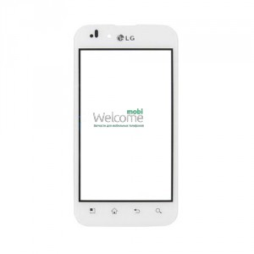 Сенсор LG P970 Optimus white orig