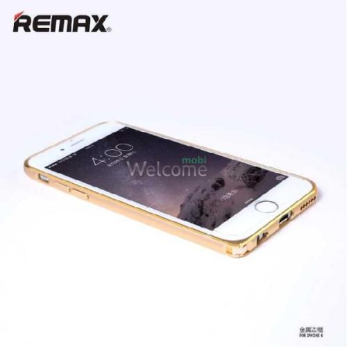 Бампер Remax Halo Series iPhone 6 золото