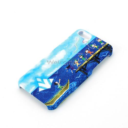 Чехол Jimmy Spa пластик soft-touch 501430