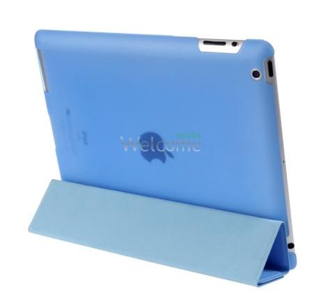 Чехол HOCO HA-L021 Ice series leather case for ipad 4,3,2 blue