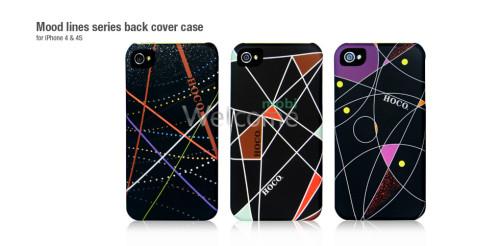 Чехол HOCO HI-P005 IML Mood series for iPhone 4