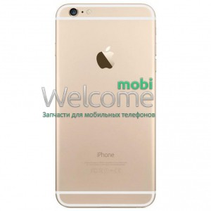 iPhone6S Plus back cover gold