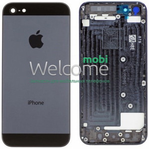 Iphone5 back cover black orig