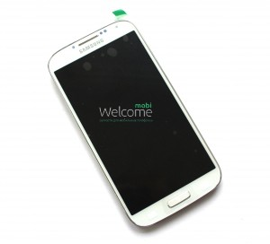 Дисплей Samsung i9500,i337,i9505 with touch screen white Galaxy S4 orig