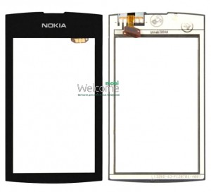 Сенсор Nokia 305,306 Asha black high copy