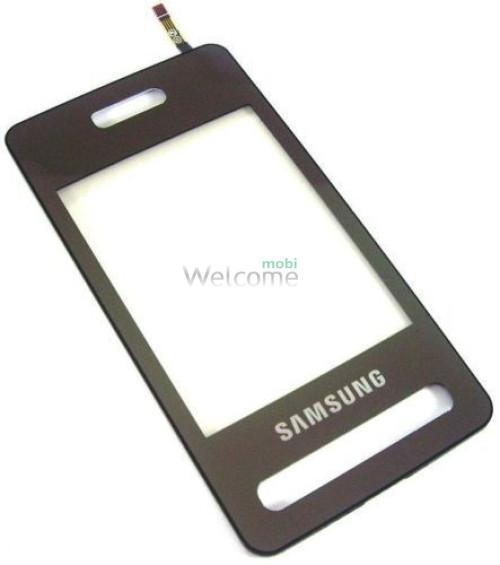 Сенсор Samsung D980 black high copy