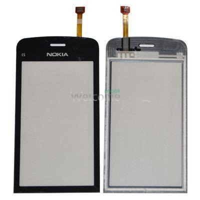Сенсор Nokia C5-03,C5-06 black orig