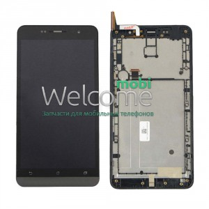 ASUS ZenFone 6 LCD with touchscreen black with frame orig