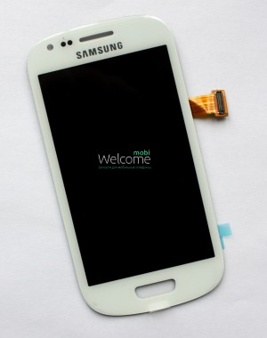 Дисплей Samsung I8190 white with touchscreen orig